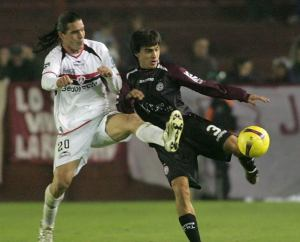 Lanús fall short