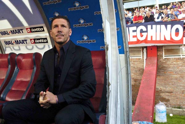 Simeone watches as his new charges continue to disappoint