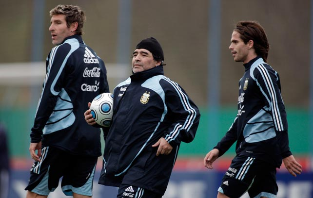 Palermo, Maradona and Gago